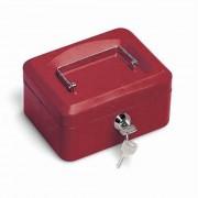 Casetta portavalori 15,3x12x7 rosso